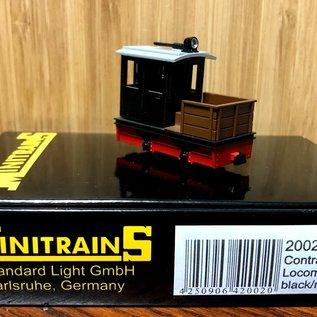 Minitrains Minitrains 2002 Schmalspur Diesel-Bau-Lok schwartz