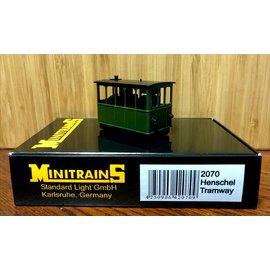Minitrains Minitrains 2070 Henschel Stoomtram lokje