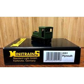 Minitrains Minitrains 2051 narrow gauge Dieselloco Plymouth green