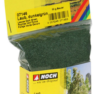 NOCH Noch 07146 Bladeren, donker groen, 50 g