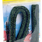 NOCH Noch 21514 Modellhecken dunkelgrün, 2Stück, 1,5 x 0,8 cm, je 50cm lang