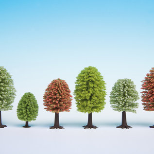 NOCH Noch 26806 Frühlingsbäume, 25Stück, 5-9cm hoch