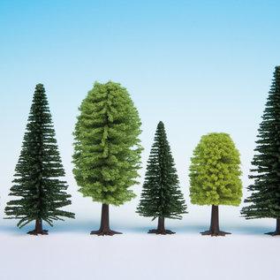 NOCH Noch 32811 Gemengd bos, 25 stuks, 3,5 - 9cm hoog