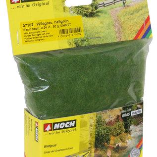 NOCH Noch 07102 Wildgras ,hellgrün, 6 mm, 50 g