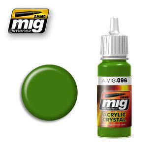 MIG Jimenez MIG 0096 CRYSTAL GREEN PERISCOPE TAIL LIGHT (17 ML)