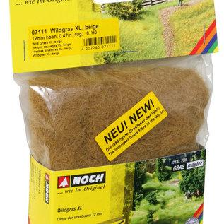 NOCH Noch 07111 Wild gras XL beige, 12 mm, 40 g