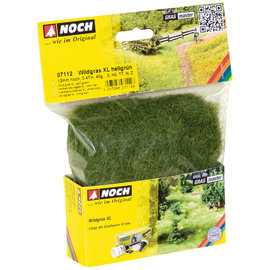 NOCH Noch 07112 Wild grass XL light green, 12 mm, 40 g