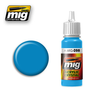 MIG Jimenez MIG 0098 CRYSTAL LIGHT BLUE (17 ML)