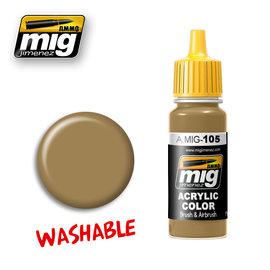 MIG Jimenez MIG 0105 WASHABLE DUST (RAL 8000) (17 ML)