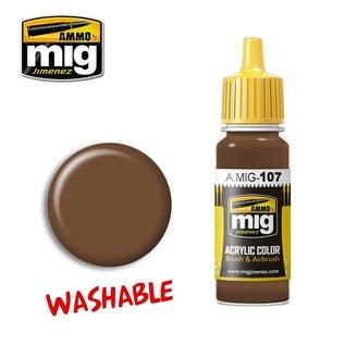 MIG Jimenez MIG 0107 WASHABLE EARTH (17 ML)