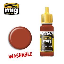 MIG Jimenez MIG 0109 WASHABLE RUST (17 ML)