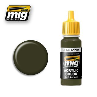 MIG Jimenez MIG 0112  SCC 15 BRITISH 1944-45 OLIVE DRAB (17 ML)