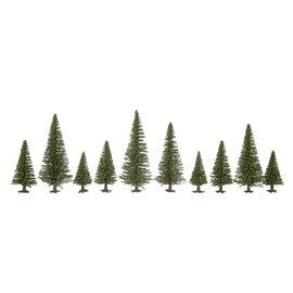 NOCH Noch 26822 Model Fir Trees extra high, 10 pieces, 16-19cm high