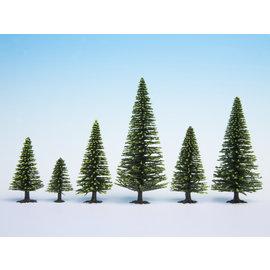 NOCH Noch 26827 Model Fir Trees extra high, 10 pieces, 16-19cm high
