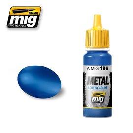 MIG Jimenez MIG 0196 WARHEAD METALLIC BLUE (17 ML)