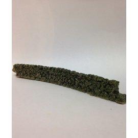 Javis Javis JCDSWOO430 Dry stone wall curved, (Gauge H0/00, Resin), approx. 15 cm