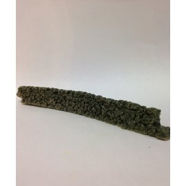 Javis Javis JCDSWOO430  Stapelmuur gebogen, (Schaal H0/00, Resin), ca 15 cm