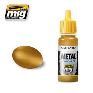 MIG Jimenez MIG 0197 BRASS (17 ML)