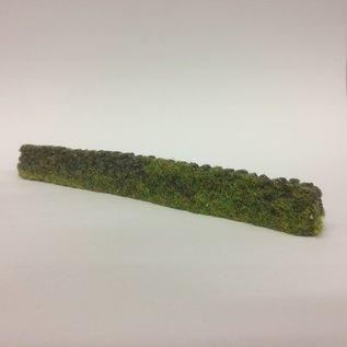 Javis Javis JDSWOOF Stapelmuur met gebladerte (Schaal H0/00, Resin), ca 15 cm