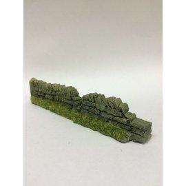 Javis Javis PW1LBDAM Dry stone wall beschädigt light brown (Gauge H0/00, Resin), approx. 13,5 cm
