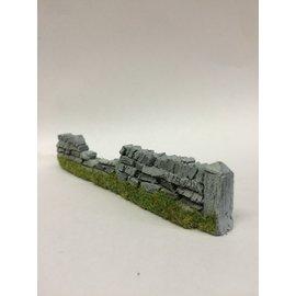 Javis Javis PW1DAM Dry stone wall damaged (Gauge H0/00, Resin), approx. 13,5 cm