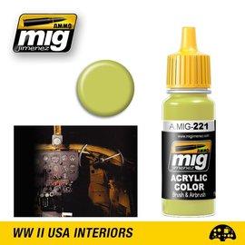 MIG Jimenez MIG 0221 FS 33481 ZINC CHROMATE YELLOW (17 ML)