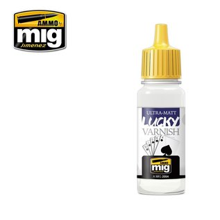 MIG Jimenez MIG 2054 ULTRA-MATT LUCKY VARNISH (17 ML)