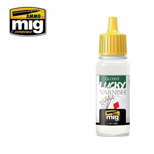 MIG Jimenez MIG 2057 GLOSSY LUCKY VARNISH (17 ML)
