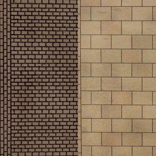 Metcalfe Metcalfe PN903 Builder Sheets Paving and cobblestone sheets (N 1:160)