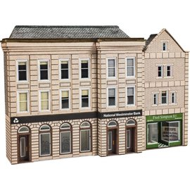 Metcalfe Metcalfe PN971 Low relief Bank & shop (gauge N)