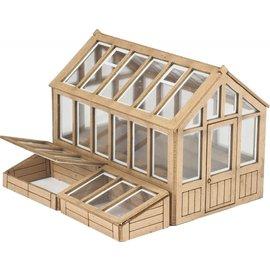 Metcalfe Metcalfe PO514 Greenhouse (Gauge H0/00)