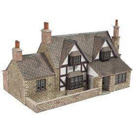 Metcalfe Metcalfe PO267 Mittelalterliches Cottage (Baugröße H0/OO)