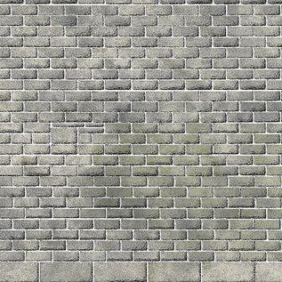 Metcalfe Metcalfe PO295 Mauerplatten Burgmauer (Richtlinie des Herstellers: H0/OO)