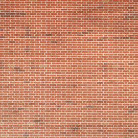 Metcalfe Metcalfe M0054 Mauerplatten in rotem Backstein (H0/OO)