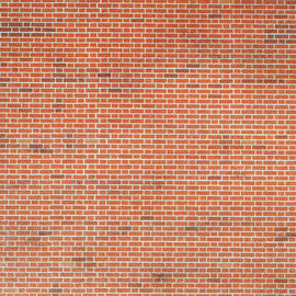 Metcalfe Metcalfe M0054 Red brick sheets (H0/OO)