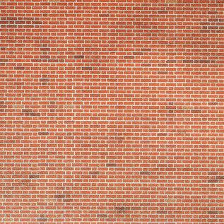 Metcalfe Metcalfe M0054 Zelfbouwplaten 'rode baksteen' (H0/OO)