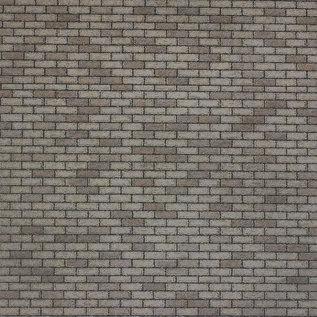 Metcalfe Metcalfe M0052 Mauerplatten grober grauer Stein  (H0/OO)