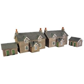 Metcalfe Metcalfe PO255 Workers cottages (H0/OO gauge)