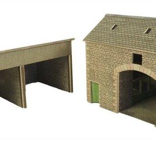 Metcalfe Metcalfe PO251 Manor farm barn (H0/OO gauge)