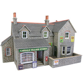 Metcalfe Metcalfe PO254 Village shop & cafe (H0/OO gauge)