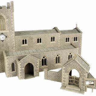Metcalfe Metcalfe PO226 Dorfkirche (Spur H0/OO)
