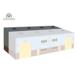 Wills Wills Modern SSM315 Industrie hal uitbreiding (schaal H0/00)