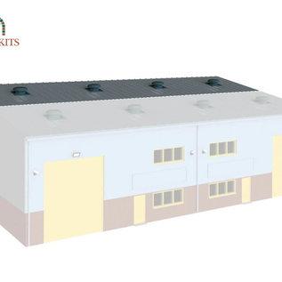 Wills Wills Modern SSM315 Industrie Halle Erweiterung (Spur H0/00)