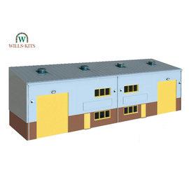 Wills Wills Modern SSM300 Industrie Halle (Spur H0/00)