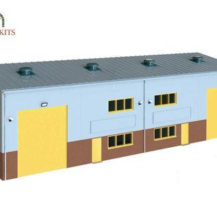 Wills Wills Modern SSM300 Industrie hal (schaal H0/00)