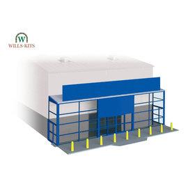 Wills Wills Modern SSM310 Supermarket frontage for industrial/Retail Unit (Gauge H0/00)