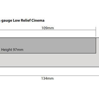 Metcalfe Metcalfe PN170 Bioscoop en winkels in halfreliëf (Schaal N)