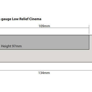 Metcalfe Metcalfe PN170 Low Relief Cinema and Two Shops (N gauge)