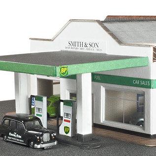 Metcalfe Metcalfe PN181 Kfz-Werkstatt mit Tankstelle (Baugröße N)