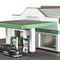 Metcalfe Metcalfe PN181 Tankstation met garage en showroom (Schaal N)